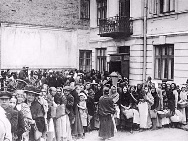 Так кто голодал в 1917 году?