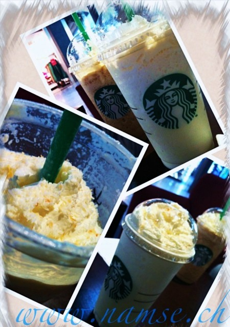 Time for Frappuccino