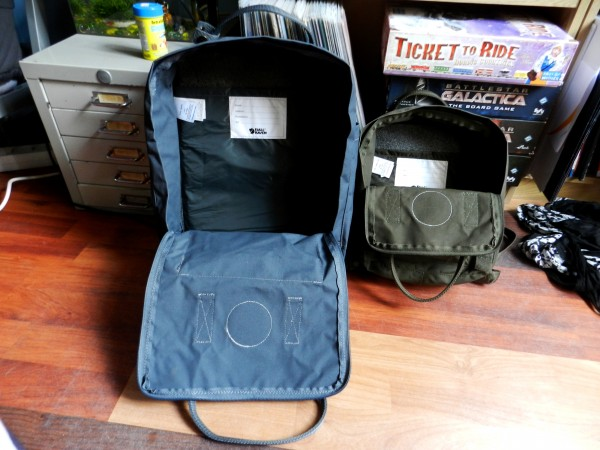 kanken backpack laptop review