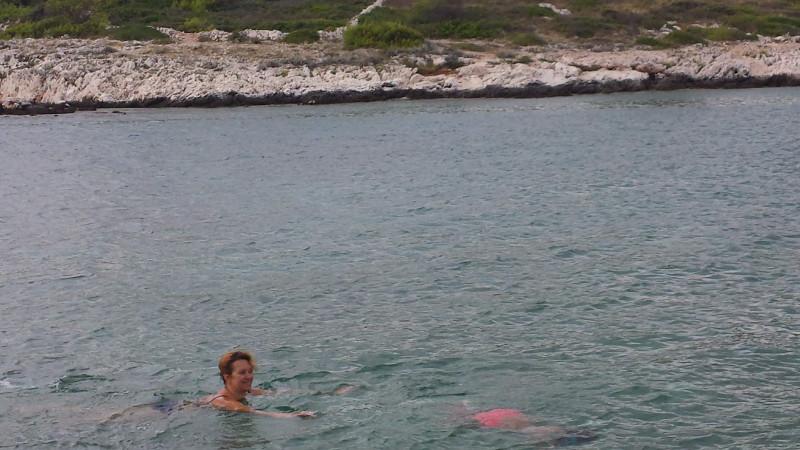 Последний день на море в Хорватии ... хорватия