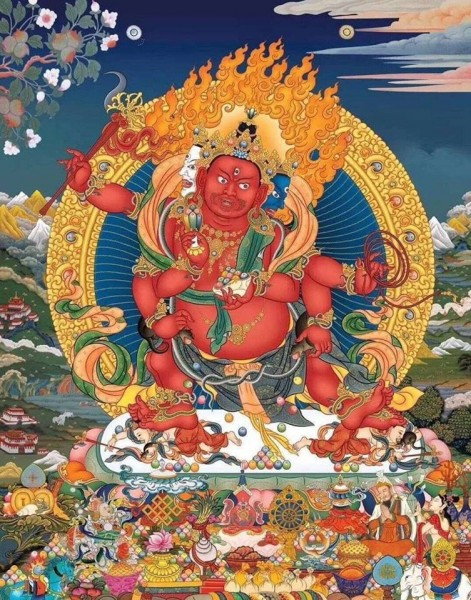 Гуру Ринпоче показал единую природу элементов! Доброе утро ...