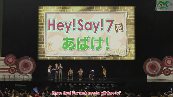 [sub] 2011.10.07 SC Jr Nekketsu Battle - HeySay7 wo Abake.avi_000008441