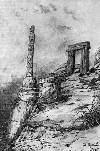 Археологических памятников мегалитов в Инзере,Кардымово,Запрудной