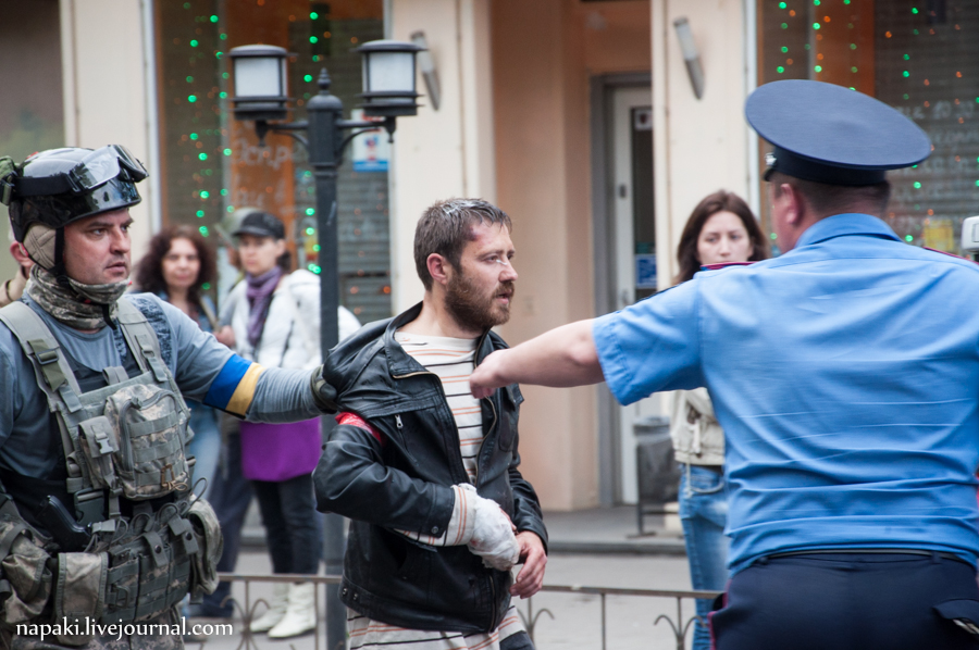 столкновения в одессе-85