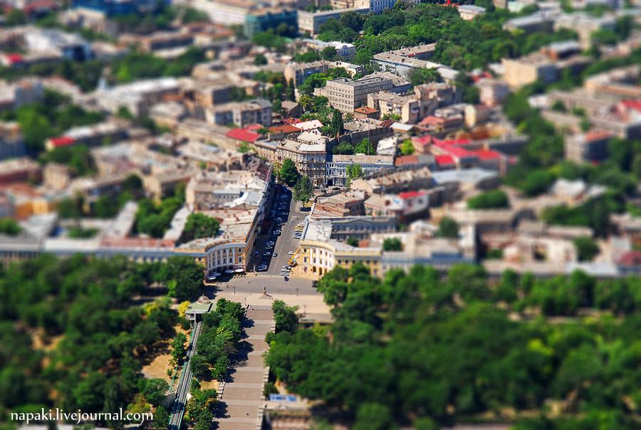 Игрушечная Потемкинская Лестница
