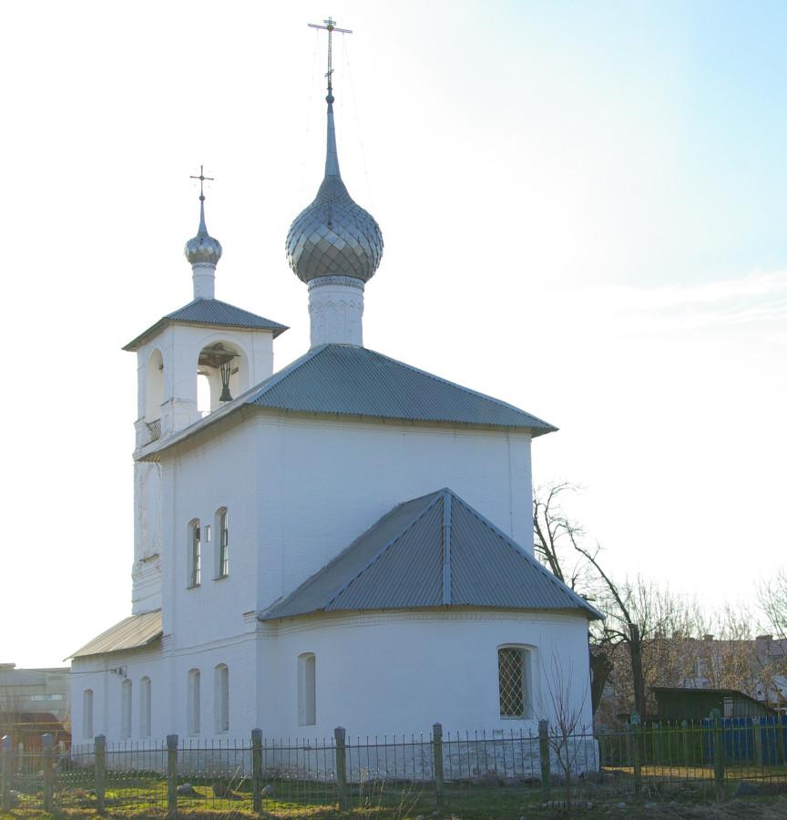 Толгская церковь на улице Декабристов. Ростов Великий