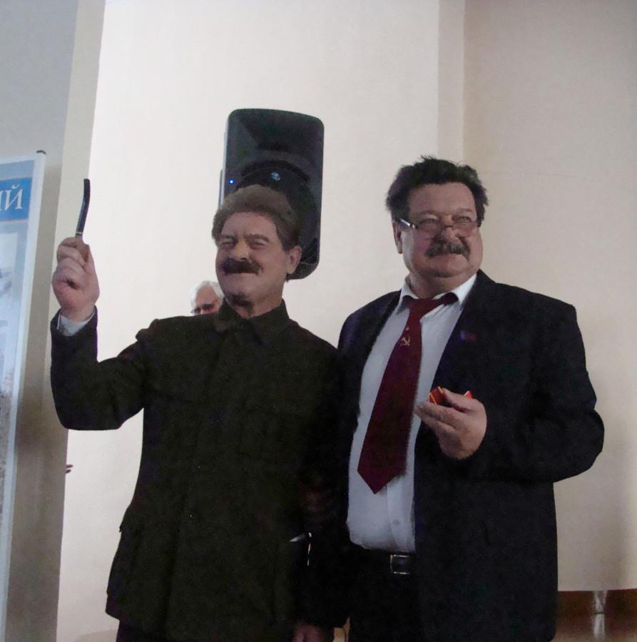 Заполев и Сталин