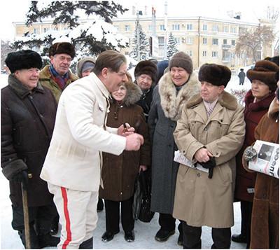 сталин и старики
