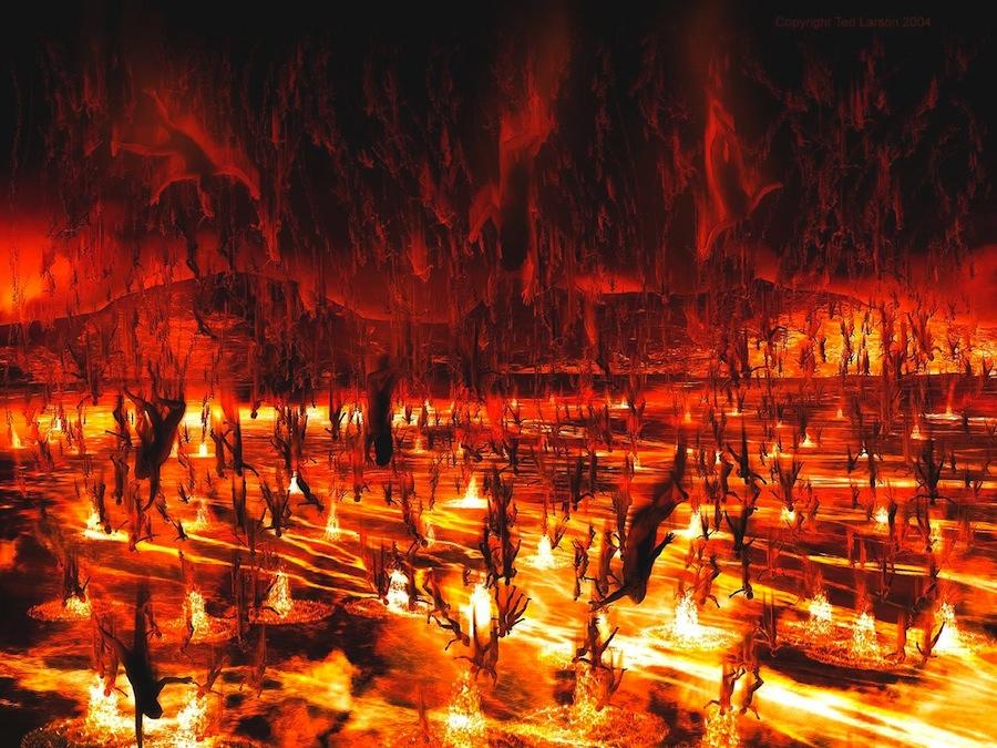 Огонь из преисподней картинки