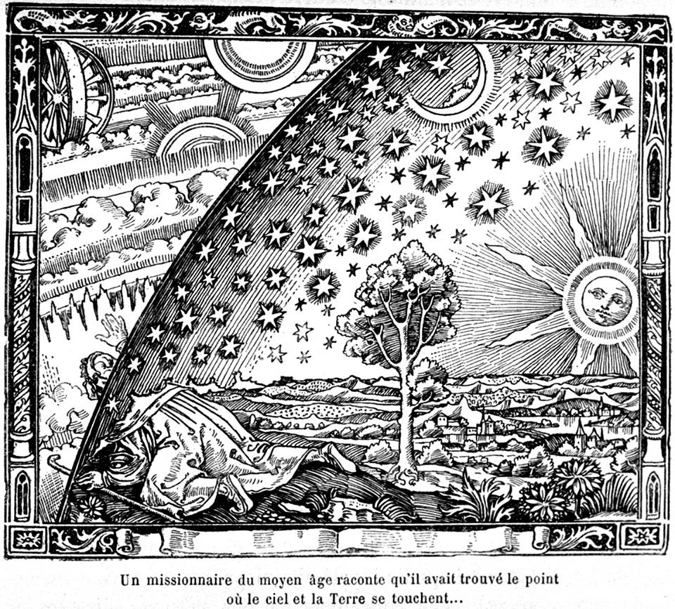 A missionary of the Middle Ages tells that he had found the point where the sky and the Earth touch...