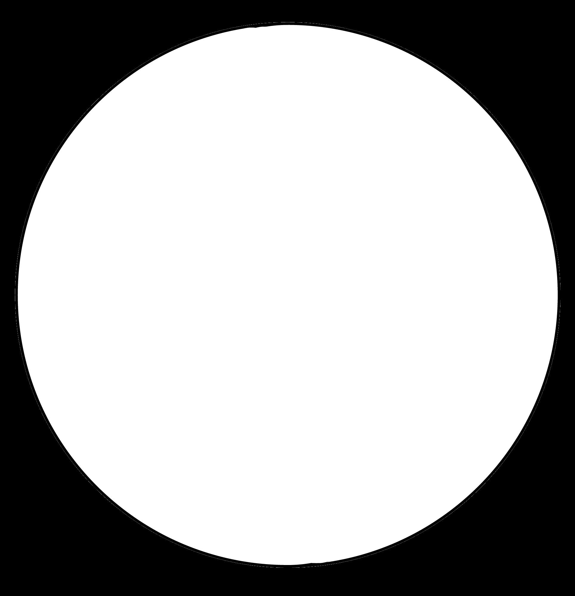 Белый круг на фотографии