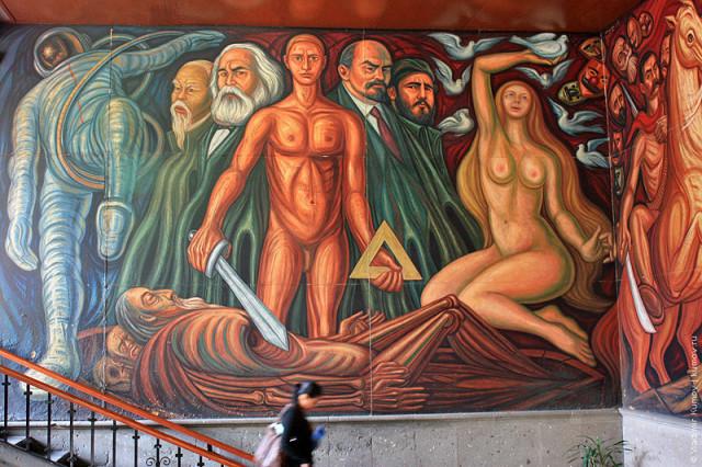 """""""La Revolución Universal"""", creado por Guillermo Chávez Vega"""
