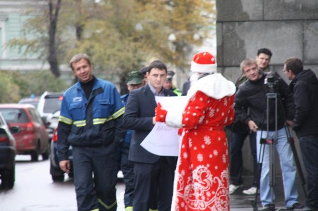 В Министерство обороны пришел Дед Мороз!