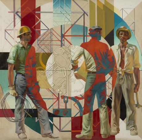 Строители, 1977
