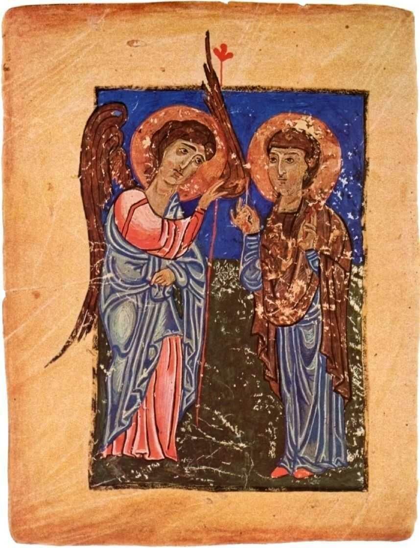 Миниатюра XII века