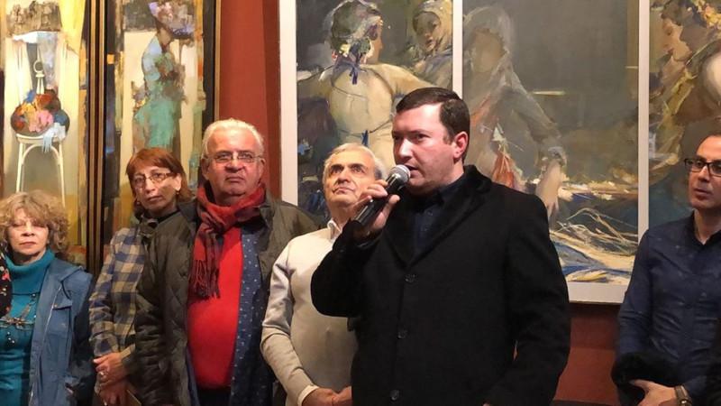 Армен Арустамян в колледже имени Фаноса Терлемезяна