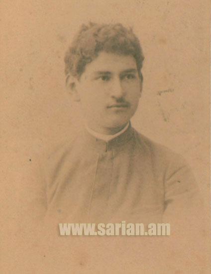 Юный Сарьян в 1897 году
