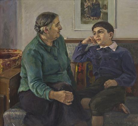 """Бабушкина сказка"" Арпений Налбандян 1953"