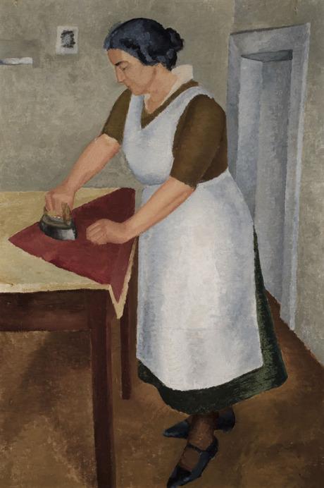 """Гоар Ферманян, """"Гладильщица"""", 1933"""