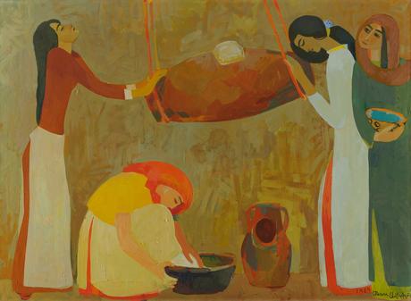 """""""Маслобойка"""" 1964, Национальная галерея Армении"""
