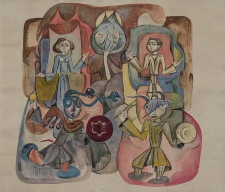 """Эдуард Харазян, """"Миниатюры"""", 1971"""