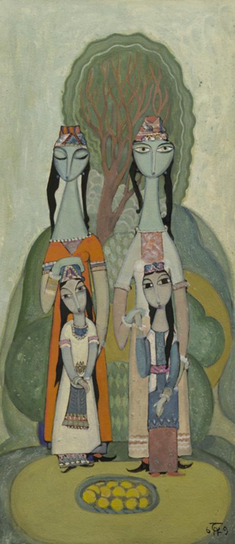 "Рубен Шахвердян, ""Материнство"", 1969"