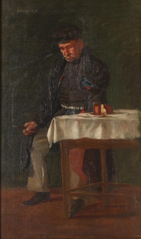 "Амаяк Акопян ""Задремал"" 1890"
