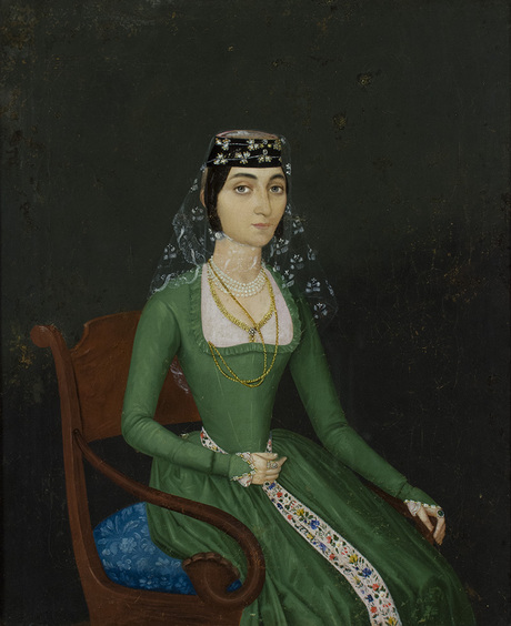 Екатерина Давидовна Ротинова-Гургенбекова, портрет не датирован