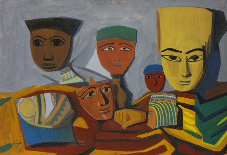 """""""Египетские маски"""", 1911, Национальная галерея Армении"""