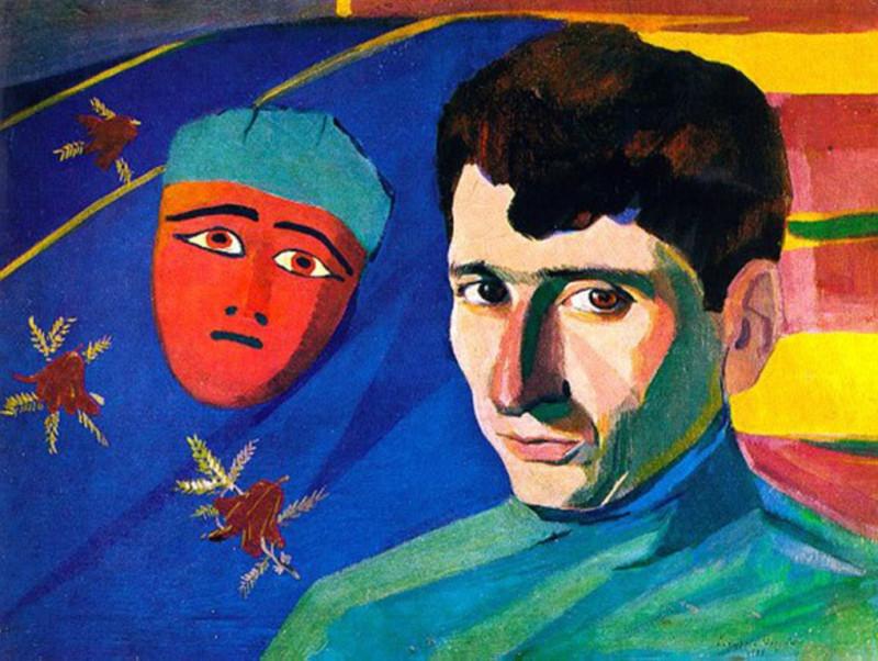 """""""Портрет Е.Чаренца"""", 1923, Государственный литературный музей Армении"""