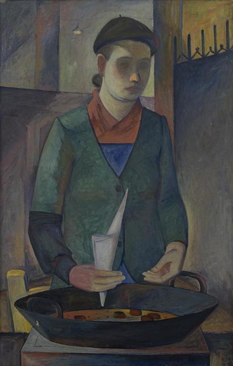 Продавщица каштанов 1936