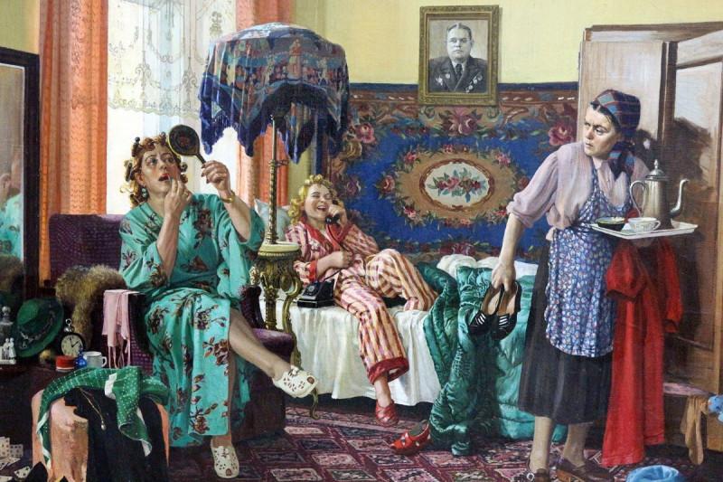 """Зенькова Раиса, """"Трутни"""", 1949 - советское представление о Лилит(ах) и Еве как об антогонистах"""