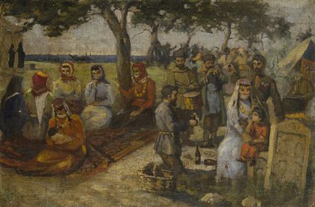 """Амаяк Арцатпанян """"Паломники"""" 1912"""