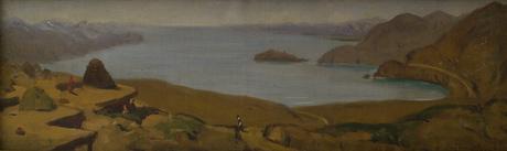 """""""Остров озера Севан"""" Амаяк Акопян (1871-1939)"""