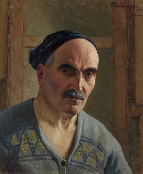 Фанос Терлемезян, автопортрет