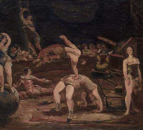 Репетиция в цирке 1934, Национальная галерея Армении