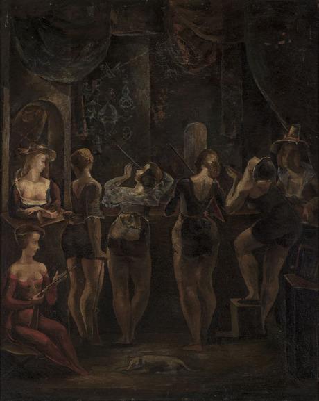 В тире, 1923, Национальная галерея Армении