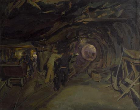 """Габриэл Гюрджан, """"Тоннель в Джорагесе"""""""