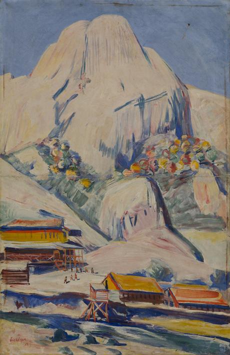 "Мартирос Сарьян, ""Дзорагет"" 1929"