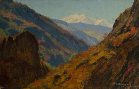 """Фанос Терлемезян, """"Дзорагет"""" 1930"""