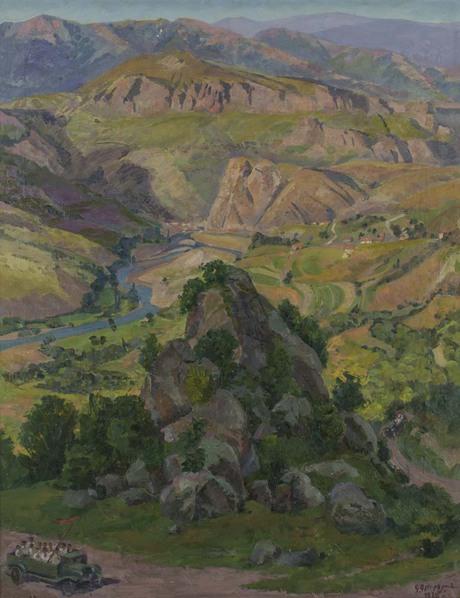 """Габриэл Гюрджян, """"Дзорагес"""" 1929"""