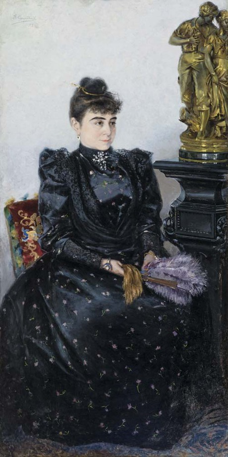 Портрет неизвестной, Вардгес Суренянц 1893