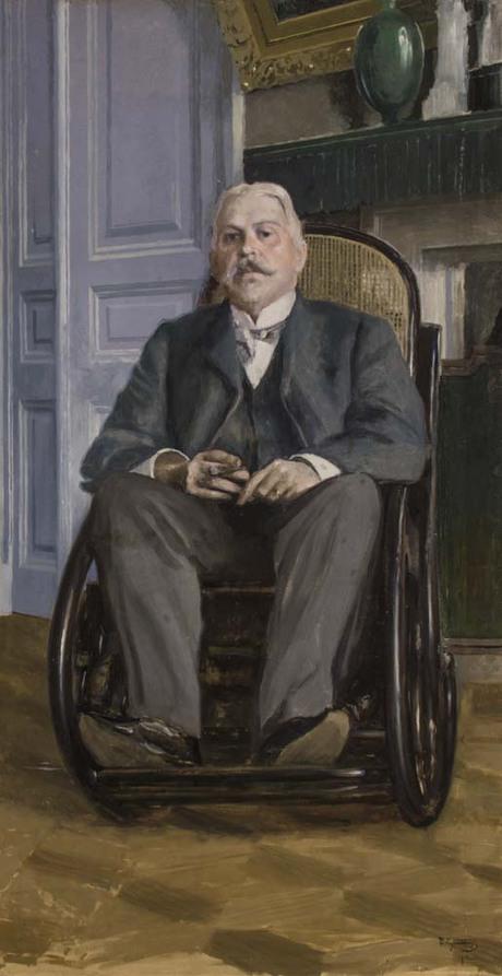 Портрет неизвестного, Вардгес Суренянц 1903
