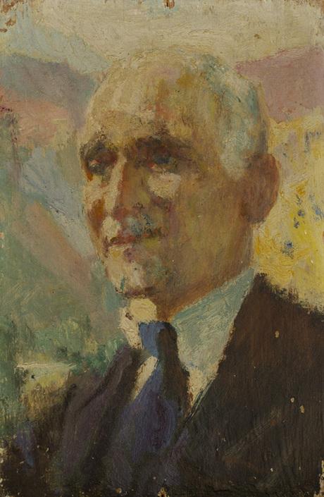 Егише Тадевосян, эскиз к портрету Ованнеса Туманяна, Национальная галерея Армении