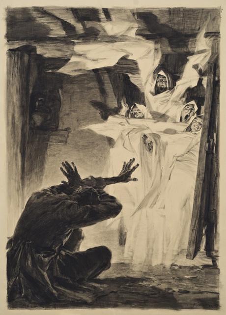 "Григор Ханджян, иллюстарция к ""Лореци Сако"", Национальная галерея Армении"