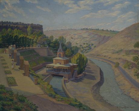 Рафаэл Шишманян, Детская железная дорога