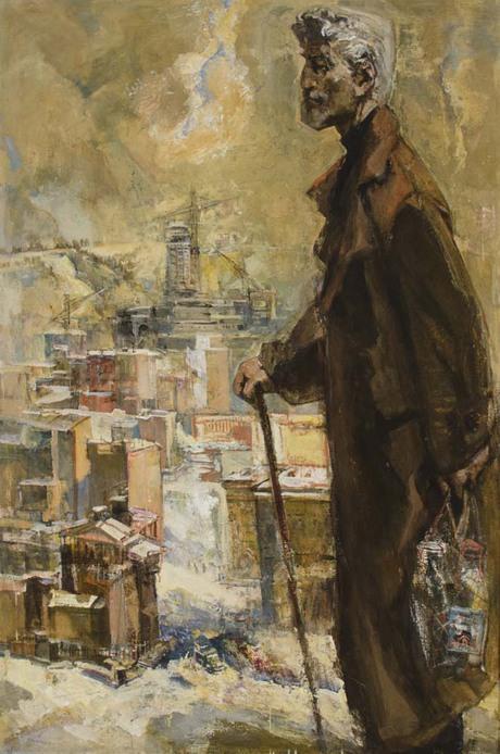 """""""Утро старика"""" 1964 (?) Национальная галерея Армении"""