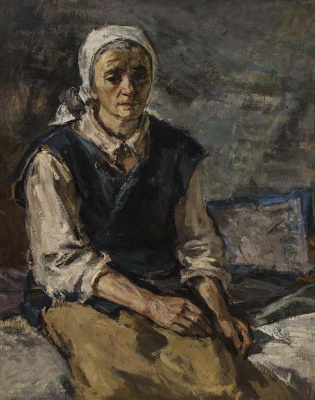 """""""Портрет матери"""" 1943 Национальная галерея Армении"""