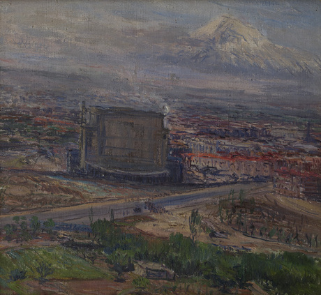 Корьюн Симонян 1910-1943, этюд
