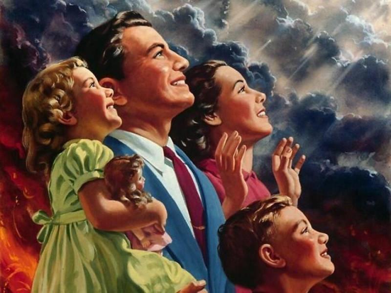 Свидетели Иеговы радуются, что сейчас все умрут, кроме них